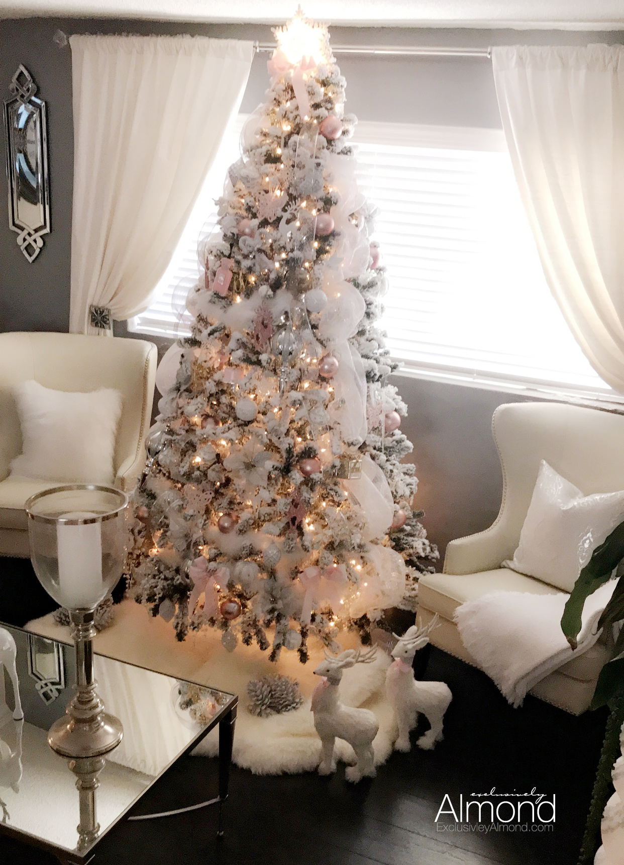 Christmas Decorating Ideas Pink Ornaments King Of Christmas Review