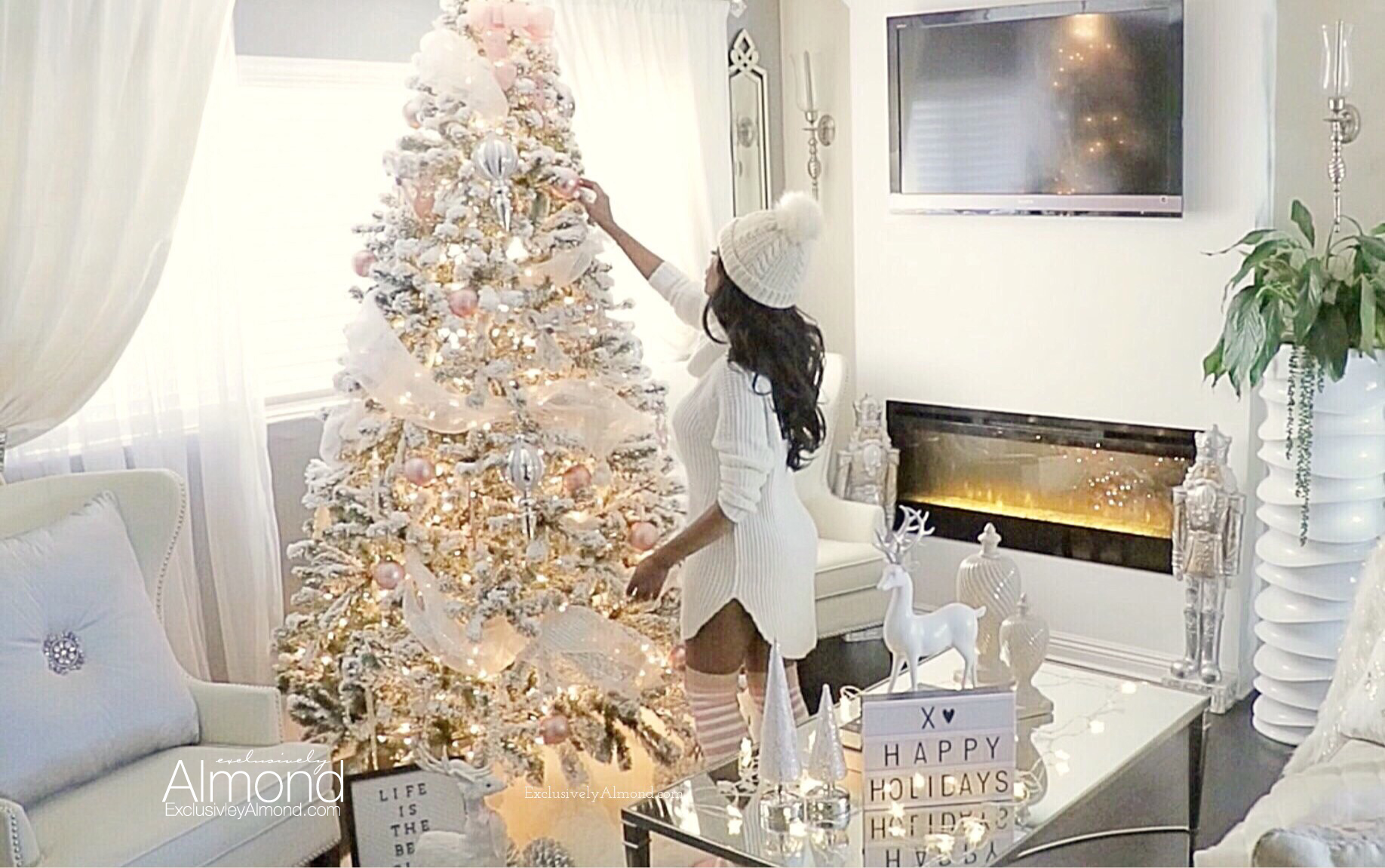 Christmas Decorating ideas 2017 Almond Summers