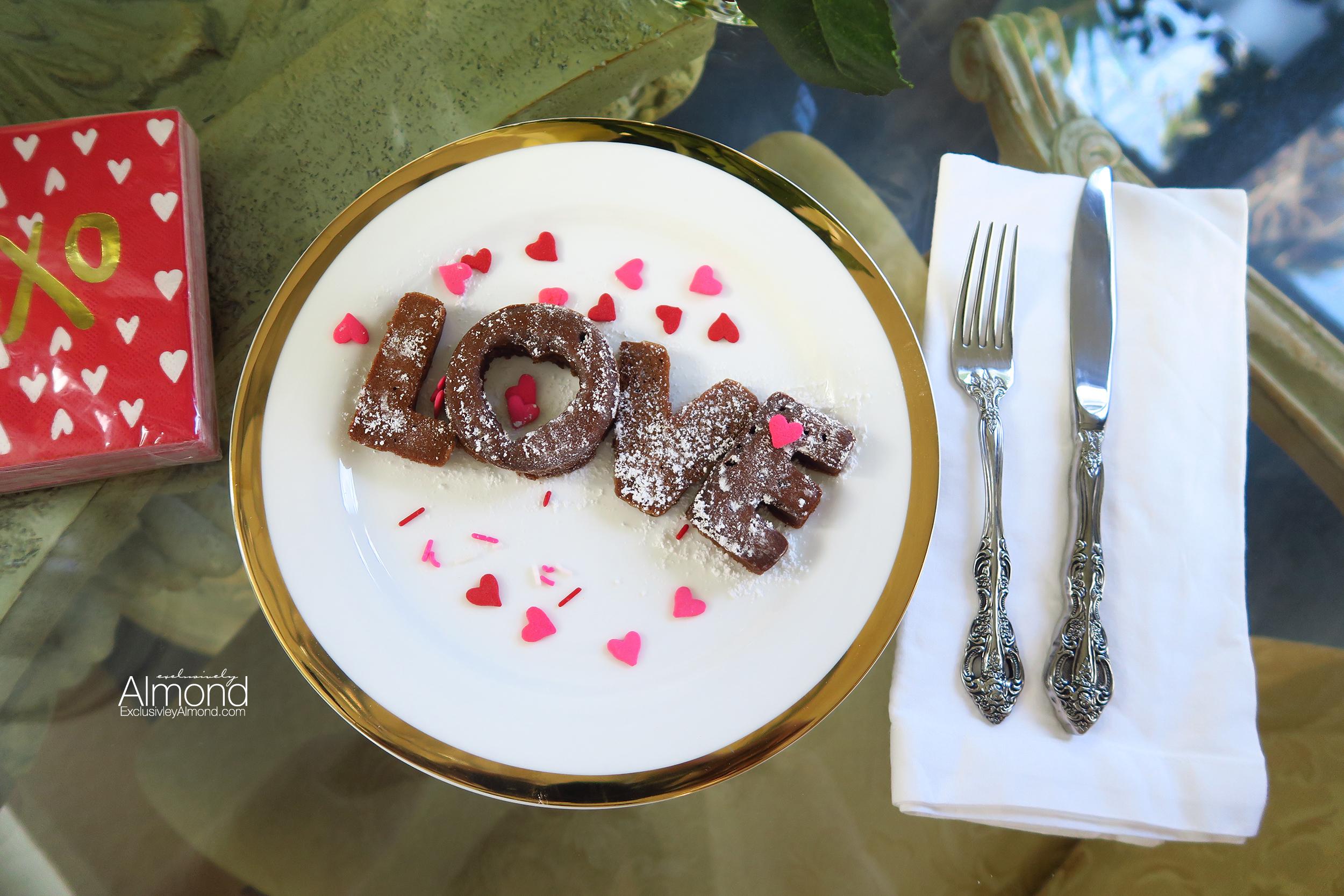 Valentine's Day Breakfast Ideas cookie cutter pancakes